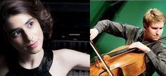 Tickets für Duo-Abend Bas Jongen (Cello), Anna Magdalena Kokits (Klavier) in Niederhollabrunn am 3. Oktober Cello, Violin, Price Tickets, Anna, Music Instruments, Events, Piano, October, Musical Instruments