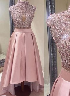 Long Prom Dresses, Pink Prom Dresses, High Neck Prom Dresses, Princess Prom Dresses, Sequin Prom Dresses, Prom Long Dresses, A Line Prom Dresses, A Line dresses, Long Evening Dresses, High Neck dresses, Zipper Evening Dresses, A-line/Princess Prom Dresses