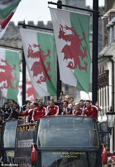 Hardly heroes but as this is the furthest Wales has got in over 50 years, I'll allow them a welcome