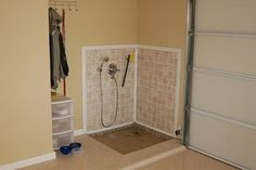 Shower In Garage Design Ideas, Pictures, Remodel and Decor