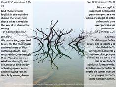 How odd of God + Las selecciones sorprendentes de Dios  https://www.biblegateway.com/passage/?search=1+cor+1%3A26-31&version=ESV;NVI;MSG;NCV;NLT