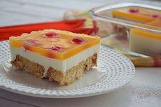 To κλασικό καλοκαιρινό γλυκό της μαμάς με γιαούρτι και ζελέ. Λίγο διαφορετικό-! |