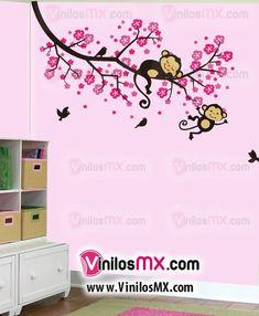 Decoracion de cuartos para bebes ideas habitaciones for Vinilo habitacion bebe nina