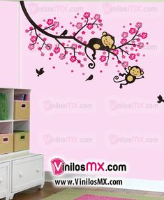 Vinilos decorativos rboles infantiles sticker decorativo for Vinilos decorativos en monterrey