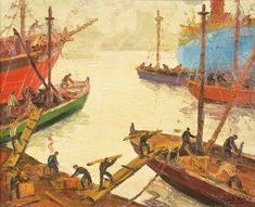 Puerto Bays, Painting, Kids House, Berries, Painting Art, Paintings, Painted Canvas, Drawings