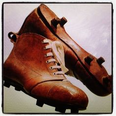 Soccer shoes back in the day!
