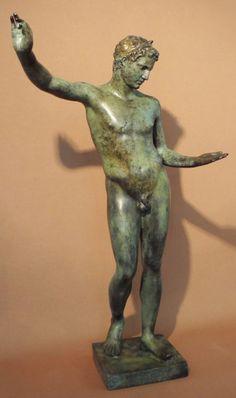 Marathon Ephebe, work of Praxiteles