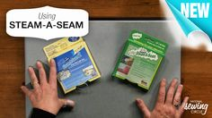 """Learn all the fun ways to work with """"Steam a Seam"""" when you are #sewing and learn how to use it! http://www.nationalsewingcircle.com/video/steam-a-seam-007515/?utm_source=pinterest&utm_medium=organic&utm_campaign=A220 #LetsSew"""