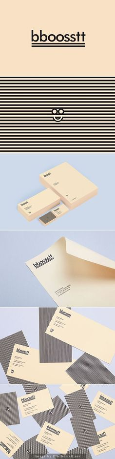 Corporate identity branding stationary business card letterhead with compliments card