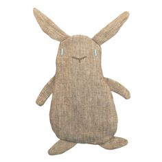 Dinkelkissen Mr. Bunny, Körnerkissen zum Kuscheln und Entspannen // grain cushion, thermo cushion by emerald bumblebee via dawanda.com