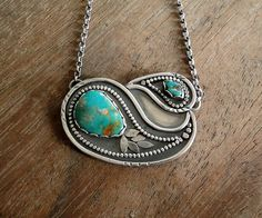 Paisley necklace | Flickr - Photo Sharing!