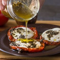 Grilled Tomato Caprese Salad. Read these easy to follow recipe instructions and enjoy Grilled Tomato Caprese Salad today! from McCormick