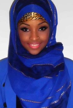 African Beauty you can't beat hijab bruv mahsallah