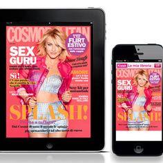 Cosmo di luglio è su smartphone e tablet  #Glamyourself