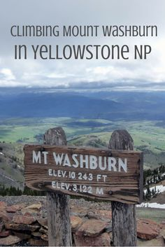 Climbing Yellowstone's Mount Washburn - our tips and tricks for this must do in one of America's most amazing national parks!