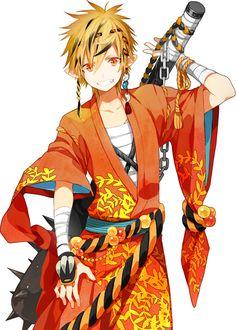 illust - ccgoma ページ! Cute Anime Guys, Hot Anime Boy, Anime Art Girl, Anime Oc, Kawaii Anime, Manga Anime, Anime Character Drawing, Character Art, Design Alien