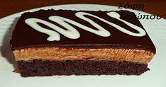 Η πάστα ταψιου που σας ξετρέλανε τώρα και σοκολατένια!Απο τη Σοφη Τσιώπου! - Fanpage Pasta, Tiramisu, Sweets, Cake, Ethnic Recipes, Desserts, Food, Wordpress, Kitchen