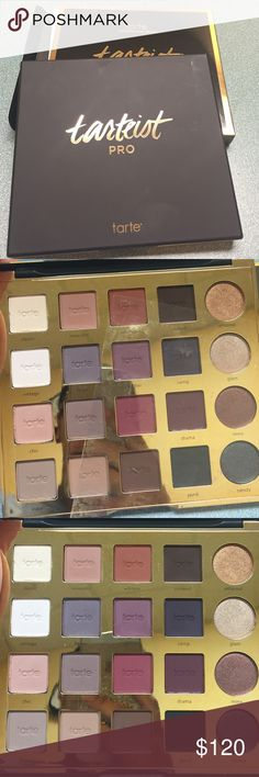 ☄ Exclusive☄TARTEIST PRO pallet Not even released yet!!! Absolutely gorgeous pallet never used.. Look your self no one has this yet! tarte Makeup Eyeshadow