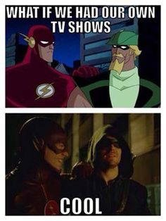 Flash & Green Arrow(JLU/Arrow & The Flash)