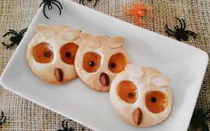 Biscotti gufo per la festa di Halloween - Ricettafacile.it Biscotti, Sugar, Cookies, Desserts, Food, Crack Crackers, Tailgate Desserts, Deserts, Eten
