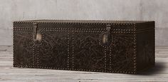 19th C. Leather Carriage Trunk Collection | Restoration Hardware