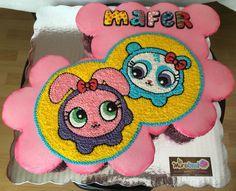 Distroller cupcakes cake. Neonatos. Ideas Para Fiestas, Princess Peach, Fondant, Cupcake Cakes, Party Themes, Cupcakes Design, Cake Decorating, Hello Kitty, Birthdays