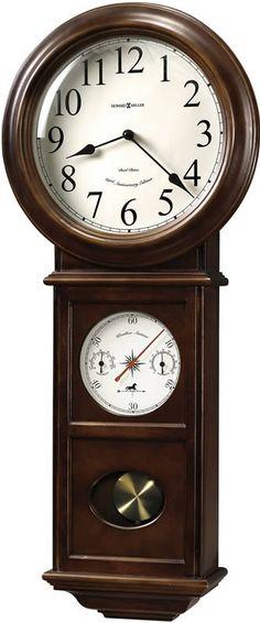 Crowley Wall Clock American Cherry