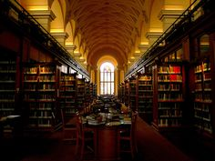 gonville  caius library, cambridge (by idlethink)
