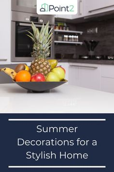 With summer just in, you might be thinking of spending time in the garden or enjoying the patio. But now is also the perfect time to refresh your interior design for a warm-weather makeover. Here are five fun ideas for summer decorations that will make your home feel as bright and airy as a day at the beach. Home Design Decor, House Design, Interior Design, Warm Weather, Make It Yourself, Stylish, Fun Ideas, Summer, Decorations