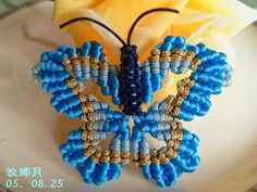 Lovely macrame butterflies. And some more creations.