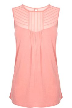 soft coral, gorgeous top
