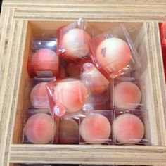 these are sold at urban outfitters. they are hand creams or lip balms, by the brand tonymoly, a japanese best selling brand. Cute Makeup, Beauty Makeup, Peach Aesthetic, Just Peachy, Tips Belleza, Aesthetic Makeup, Cute Food, Bubble Gum, Aesthetic Pictures