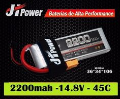 BATERIA JH POWER 2200 14.8V 4S 45C