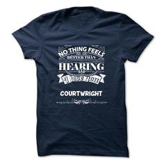 awesome COURTWRIGHT Name Tshirt - TEAM COURTWRIGHT, LIFETIME MEMBER