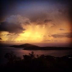 Even beautiful when it rains. Open the heavens, and bring it. St Thomas US Virgin Islands.