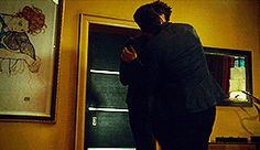 Alec Lightwood and Magnus Bane / Matthew Daddario and Harry Shum Jr