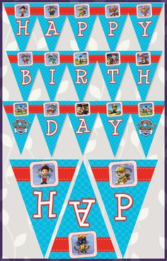 Paw Patrol Printables free with Instant Download or have us personalize them for you!