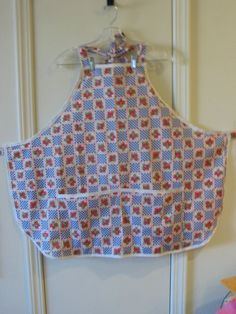 Strawberries and Check 2090 by TheKraftyKats on Etsy (Accessories, Apron, bib apron, aprons strawberries, full apron, accessories, apron with pocket, mom gift apron, Mother's Day Apron, womens, apron, cooking apron, cotton apron, kitchen apron, handmade apron)