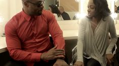 See what it's like backstage with Tank and 'rolling out'