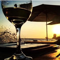 Relax mode; glass of wine and an amazing sunset. Picture by our guest; Angelika Aschenbach #scubalodge #Pietermaai #Curacao #trip #travel #Boutiquehotel #restaurant #Willemstad #Caribbean #dutchantilles #island #tropical #wanderlust #travel
