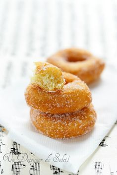 Zeppole de zia Giuditta (beignets italiens ou ciambelle)