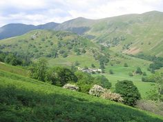 Troutbeck Farm, purchased by Beatrix Potter Heelis in order to save the land from development. She gave it to the National Trust.