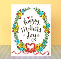 Happy Mothers Day by Suzy Plantamura featuring the new Simon Says Stamp Mothers Fathers Florals release!