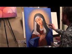 Видео урок иконописи. Образ Богородицы Умиление