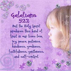 Galatians 5:22 by mrsaboyer, via Flickr