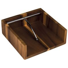 Davis & Waddell Taste Wooden Napkin Holder