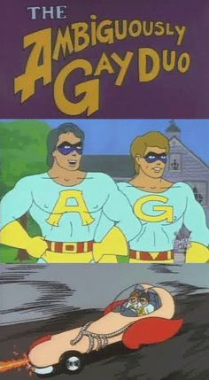 The ambiguously gay duo episodes, dick on pussy