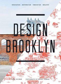 Design Brooklyn, Book cover design - Graphic / Print / Editorial design and layout Font Design, Design Blog, Layout Design, Web Design, Urban Design, Creative Design, Design Editorial, Editorial Layout, Branding