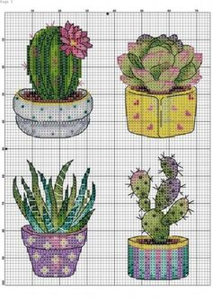 Cactus Cross Stitch, Cross Stitch Owl, Cat Cross Stitches, Small Cross Stitch, Modern Cross Stitch, Cross Stitch Flowers, Cross Stitch Kits, Cross Stitch Charts, Cross Stitch Designs