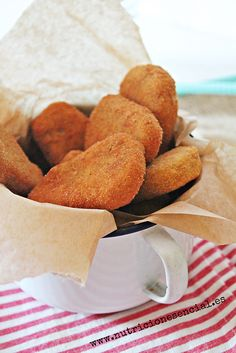 Nuggets de garbanzos - Tigriteando